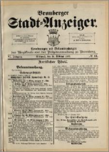 Bromberger Stadt-Anzeiger, J. 6, 1889, nr 14