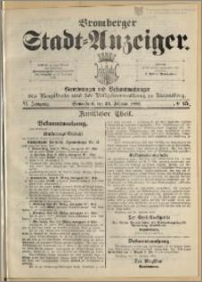 Bromberger Stadt-Anzeiger, J. 6, 1889, nr 15