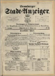 Bromberger Stadt-Anzeiger, J. 6, 1889, nr 17