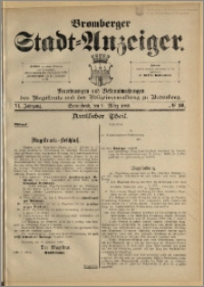 Bromberger Stadt-Anzeiger, J. 6, 1889, nr 19