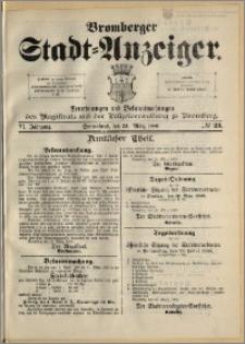Bromberger Stadt-Anzeiger, J. 6, 1889, nr 23