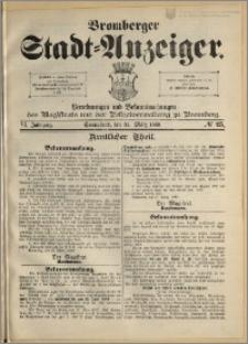 Bromberger Stadt-Anzeiger, J. 6, 1889, nr 25