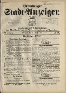 Bromberger Stadt-Anzeiger, J. 6, 1889, nr 28