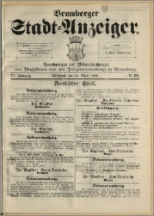 Bromberger Stadt-Anzeiger, J. 6, 1889, nr 32