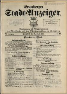 Bromberger Stadt-Anzeiger, J. 6, 1889, nr 33