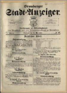 Bromberger Stadt-Anzeiger, J. 6, 1889, nr 40