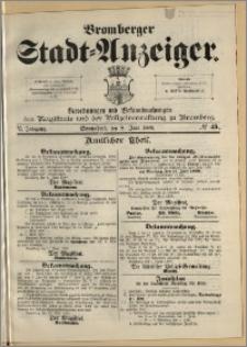 Bromberger Stadt-Anzeiger, J. 6, 1889, nr 45