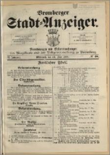 Bromberger Stadt-Anzeiger, J. 6, 1889, nr 48