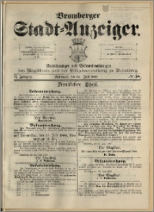 Bromberger Stadt-Anzeiger, J. 6, 1889, nr 58