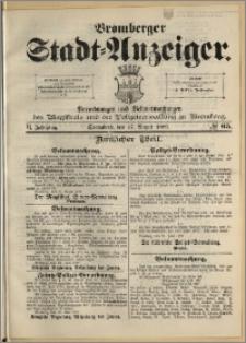 Bromberger Stadt-Anzeiger, J. 6, 1889, nr 65