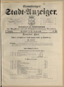 Bromberger Stadt-Anzeiger, J. 6, 1889, nr 67