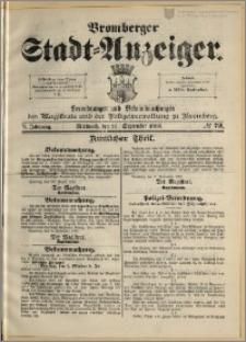 Bromberger Stadt-Anzeiger, J. 6, 1889, nr 72