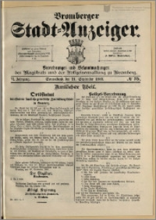 Bromberger Stadt-Anzeiger, J. 6, 1889, nr 75
