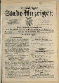 Bromberger Stadt-Anzeiger, J. 6, 1889, nr 77