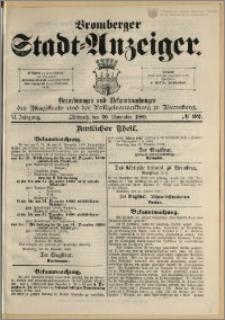 Bromberger Stadt-Anzeiger, J. 6, 1889, nr 92