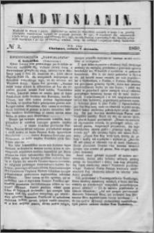 Nadwiślanin, 1860.01.07 R. 11 nr 2