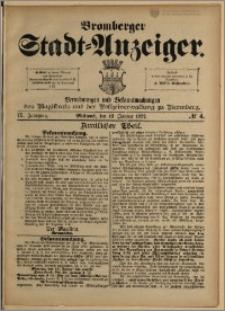 Bromberger Stadt-Anzeiger, J. 9, 1892, nr 4