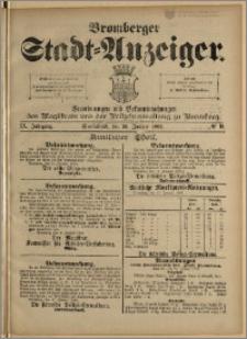Bromberger Stadt-Anzeiger, J. 9, 1892, nr 9
