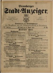 Bromberger Stadt-Anzeiger, J. 9, 1892, nr 63