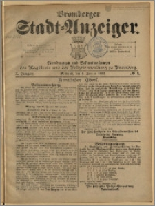 Bromberger Stadt-Anzeiger, J. 10, 1893, nr 1