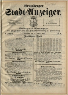 Bromberger Stadt-Anzeiger, J. 10, 1893, nr 7