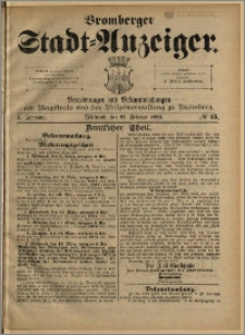 Bromberger Stadt-Anzeiger, J. 10, 1893, nr 15