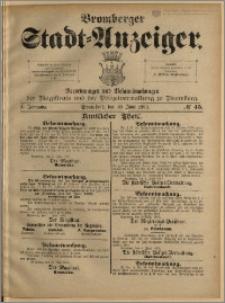 Bromberger Stadt-Anzeiger, J. 10, 1893, nr 45