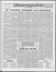 Wiadomości, R. 9 nr 40 (444), 1954