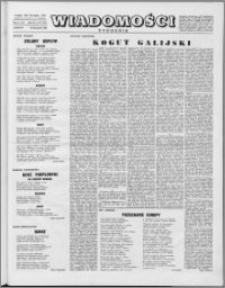 Wiadomości, R. 9 nr 48 (452), 1954