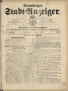 Bromberger Stadt-Anzeiger, J. 16, 1899, nr 1