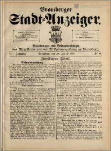Bromberger Stadt-Anzeiger, J. 16, 1899, nr 8