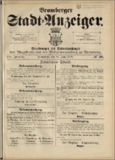 Bromberger Stadt-Anzeiger, J. 16, 1899, nr 46