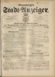 Bromberger Stadt-Anzeiger, J. 16, 1899, nr 48