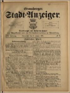 Bromberger Stadt-Anzeiger, J. 18, 1901, nr 7