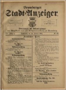 Bromberger Stadt-Anzeiger, J. 19, 1902, nr 15