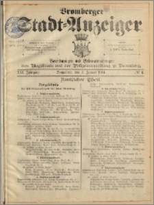 Bromberger Stadt-Anzeiger, J. 21, 1904, nr 1