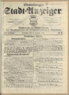Bromberger Stadt-Anzeiger, J. 21, 1904, nr 4