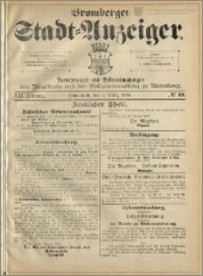 Bromberger Stadt-Anzeiger, J. 21, 1904, nr 19