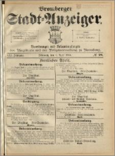Bromberger Stadt-Anzeiger, J. 21, 1904, nr 28