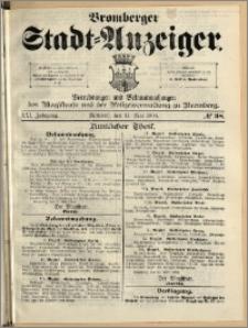 Bromberger Stadt-Anzeiger, J. 21, 1904, nr 38