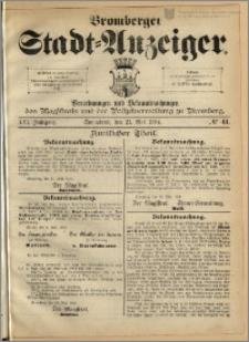 Bromberger Stadt-Anzeiger, J. 21, 1904, nr 41