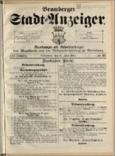 Bromberger Stadt-Anzeiger, J. 21, 1904, nr 47