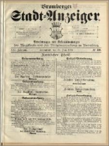 Bromberger Stadt-Anzeiger, J. 21, 1904, nr 49