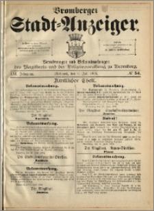 Bromberger Stadt-Anzeiger, J. 21, 1904, nr 54