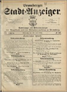 Bromberger Stadt-Anzeiger, J. 21, 1904, nr 58