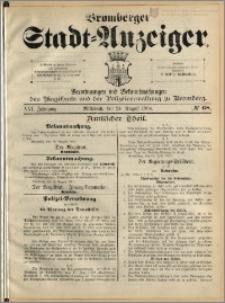 Bromberger Stadt-Anzeiger, J. 21, 1904, nr 68