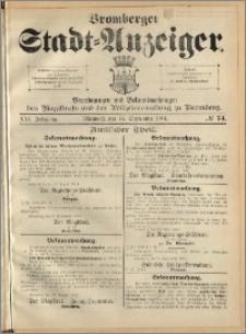 Bromberger Stadt-Anzeiger, J. 21, 1904, nr 74