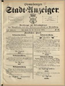 Bromberger Stadt-Anzeiger, J. 21, 1904, nr 77