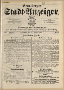 Bromberger Stadt-Anzeiger, J. 22, 1905, nr 4