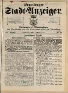 Bromberger Stadt-Anzeiger, J. 22, 1905, nr 10